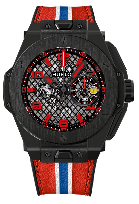 Hublot Big Bang Ferrari Black Ceramic soldier 560