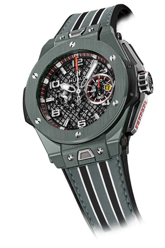 Hublot Big Bang Ferrari Grey Ceramic glamor 560