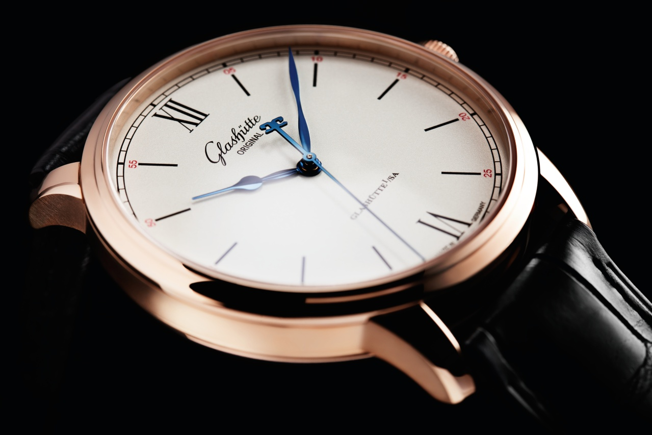 Rose gold glashütte original senator excellence caliber 36 replica watch