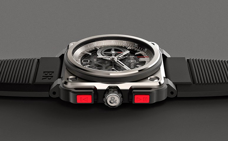 Steel bell & ross br-x1 chronograph tourbillon replica watch