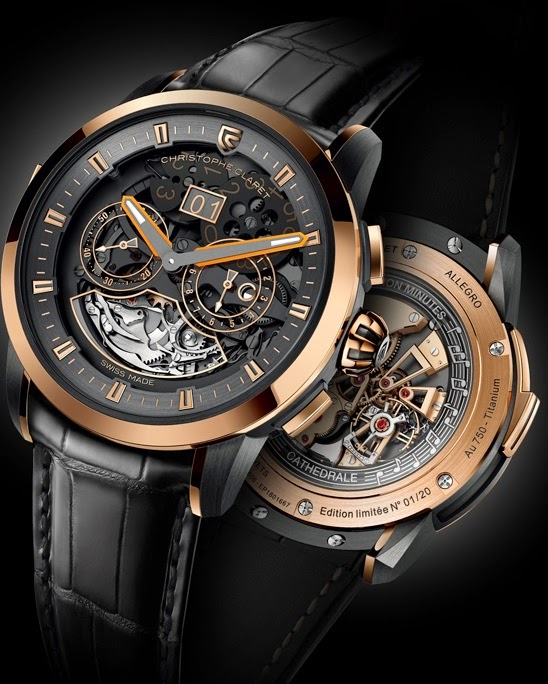 Best christophe claret allegro minute repeater replica watch