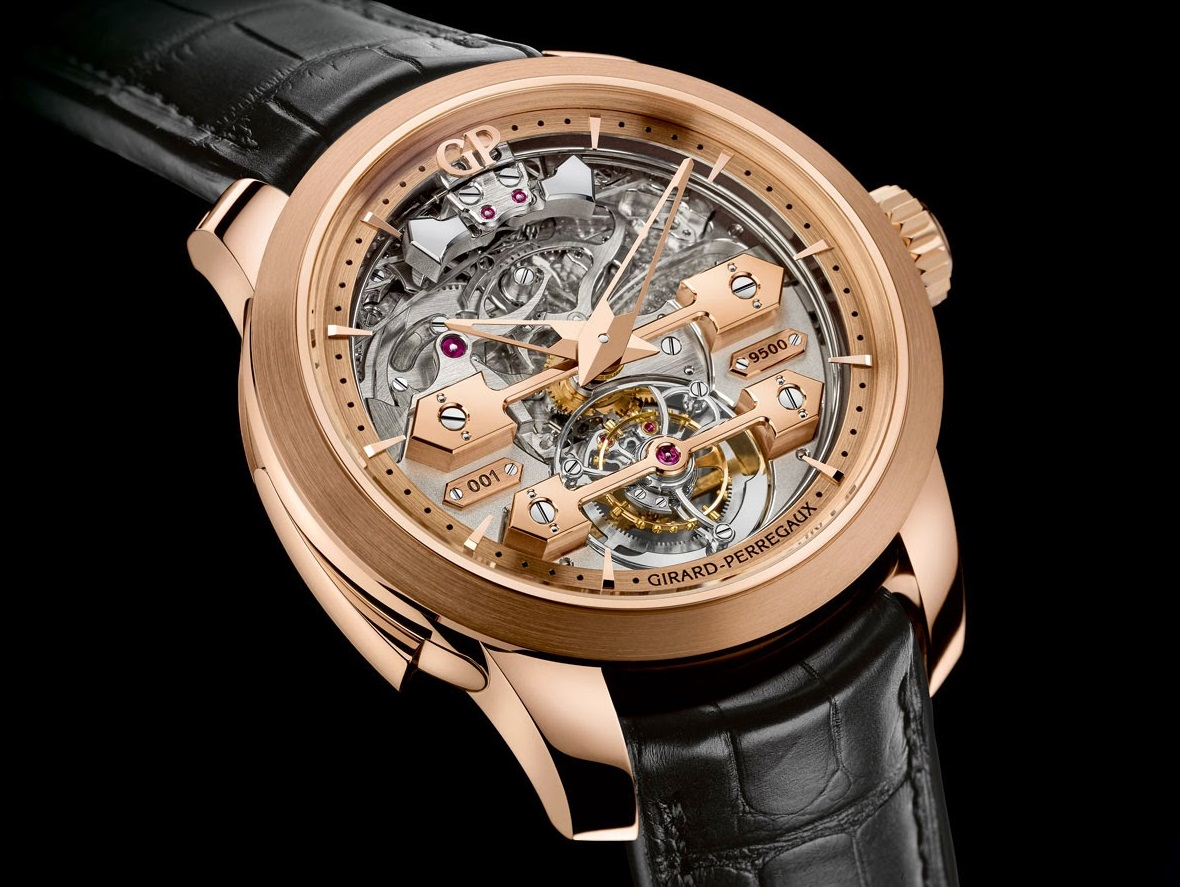 Girard-Perregaux - Minute Repeater Tourbillon with Gold Bridges - Striking Watch Prize