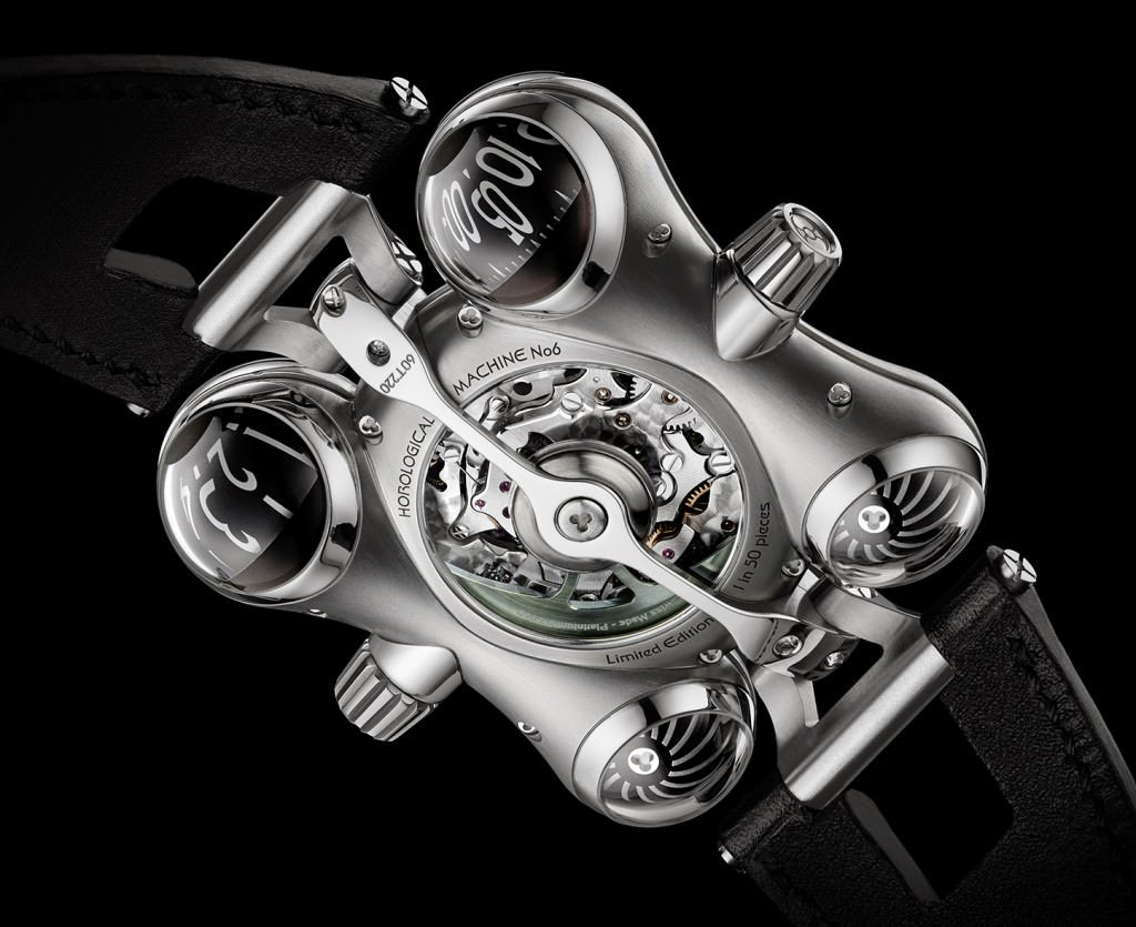 "MB&F – HOROLOGICAL MACHINE N°6 ""SPACE PIRATE"" WATCH"
