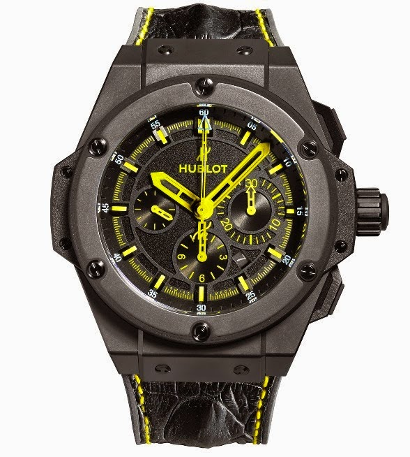 best hublot king power 692 bang replica watch stylized for NYC Taxi Cab