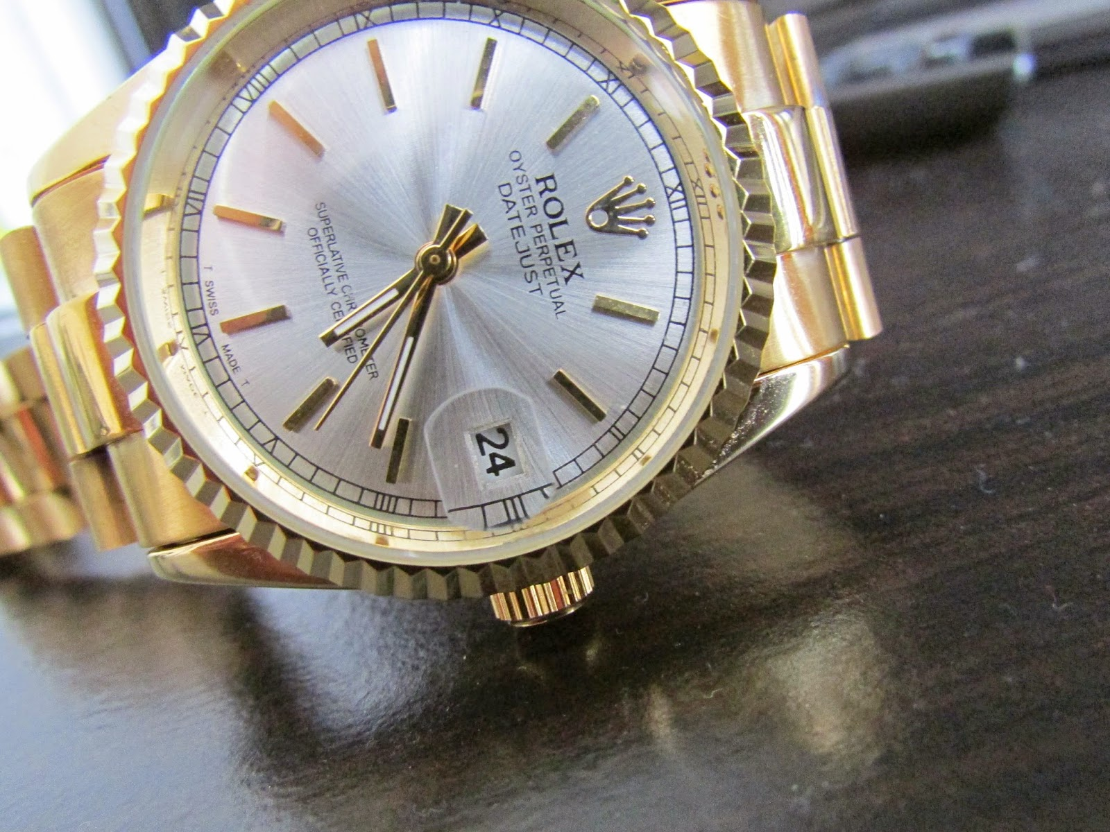 Fake people wear fake rolex datejust watches