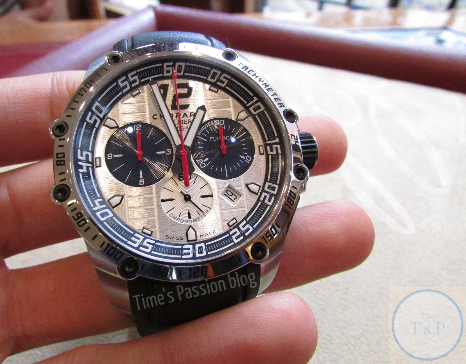 Blue Inner Bezel Chopard Superfast Chrono Porsche 919 Jacky Ickx Edition Replica Watch