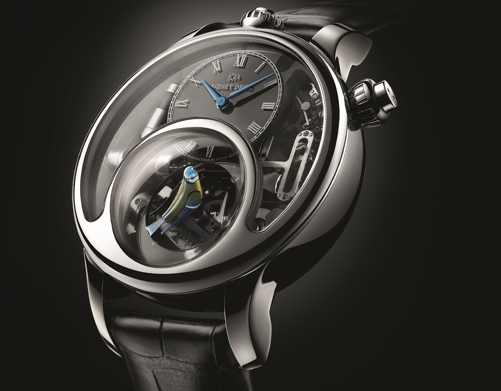 Jacquet Droz - The Charming Bird - Mechanical Exception Watch Prize
