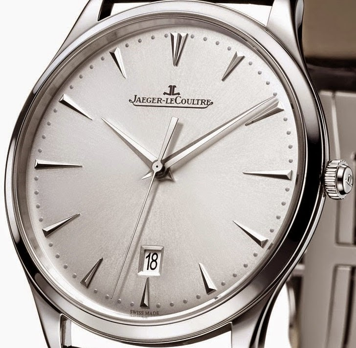 New jaeger lecoultre master ultra thin date stainless steel replica watch
