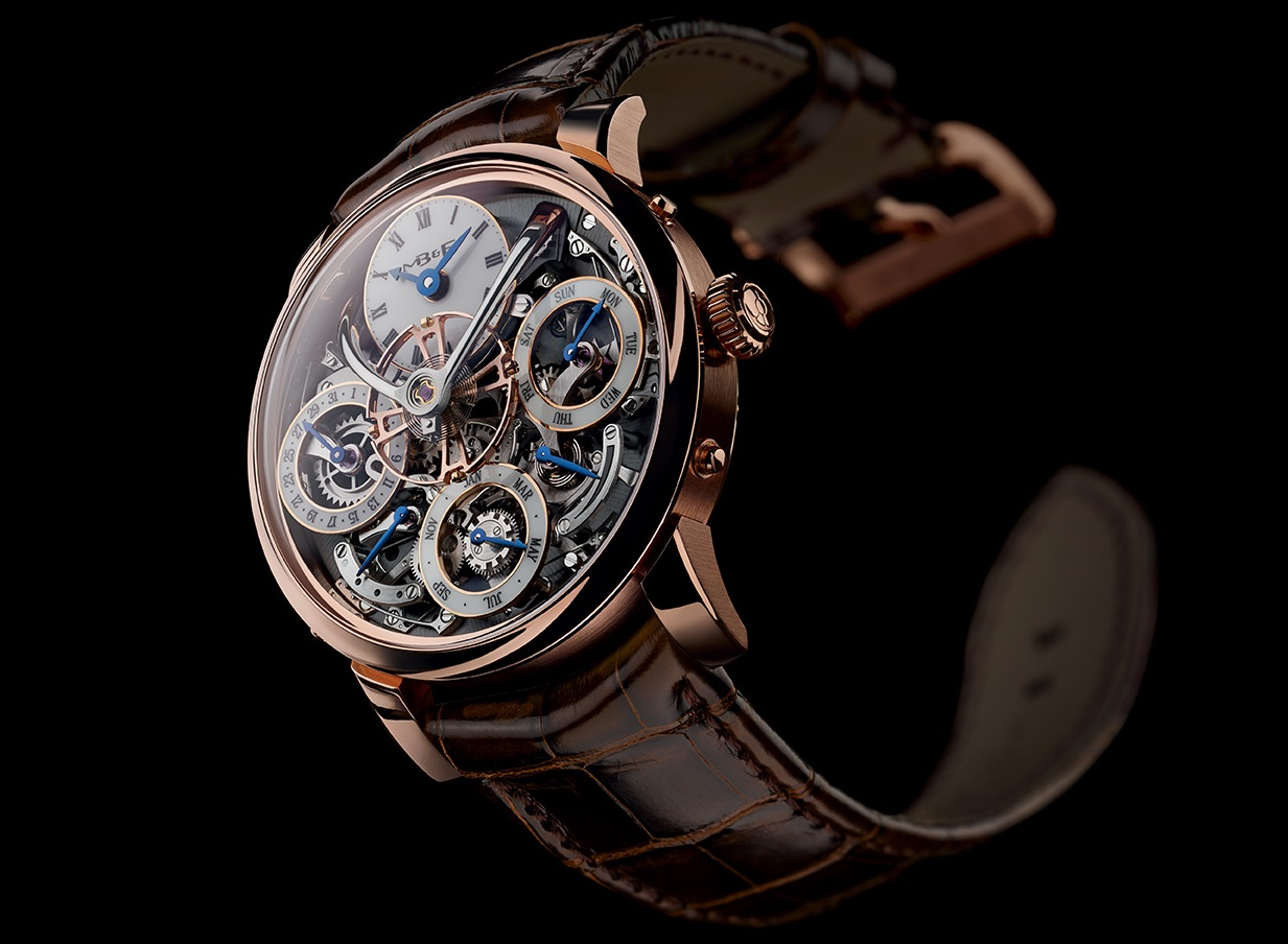 mb&f legacy machine perpetual calendar rose gold replica watch