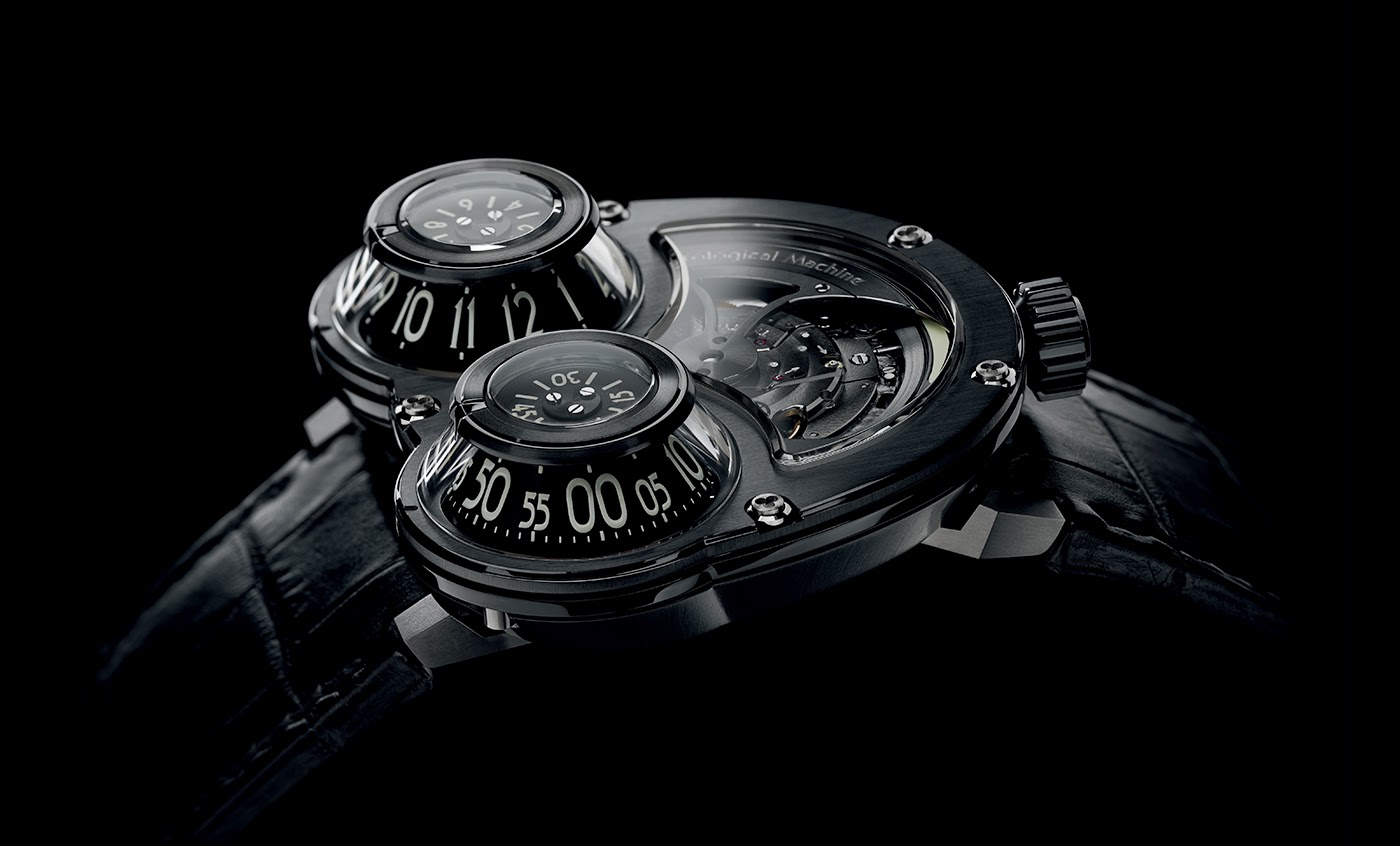 Black mb&f hm3 megawind final edition replica watch