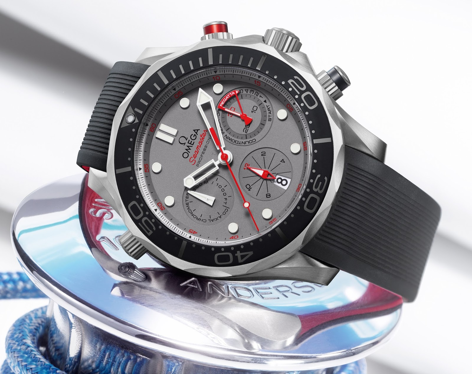 Best omega seamaster diver 300m chronograph etnz limited edition replica watch