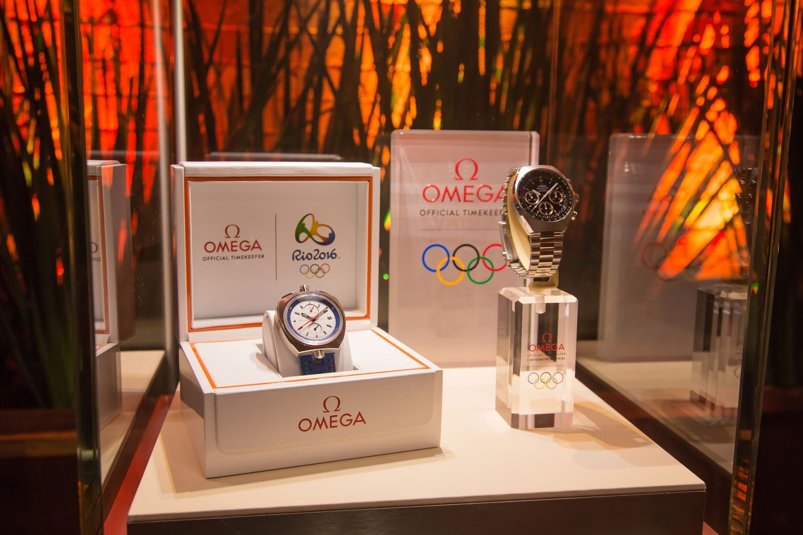 "New Style Omega replica watches from the ""RIO 2016"" collection"