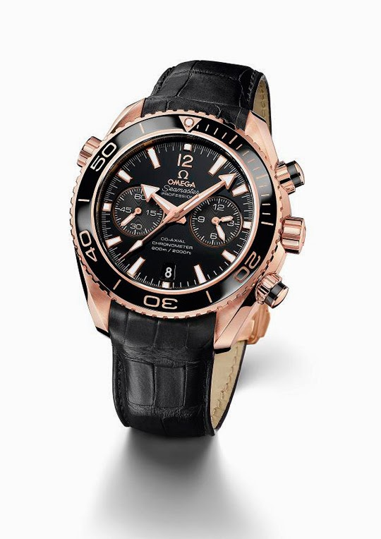 Best omega seamaster planet ocean ceragold chronograph replica watch