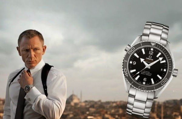 omega seamaster james bond collection replica watch + London Film Museum