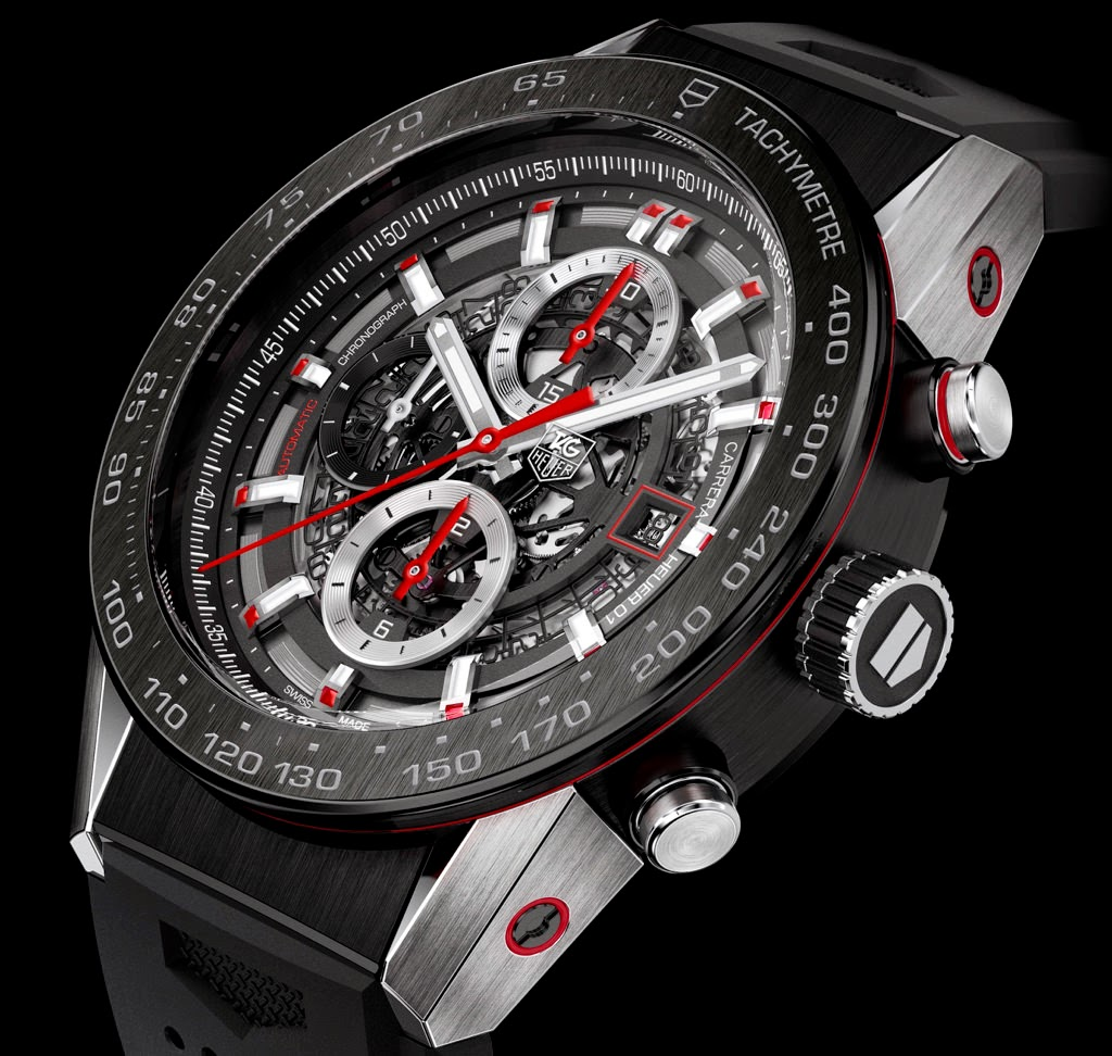 Best TAG Heuer Carrera Calibre Heuer 01 Replica Watch