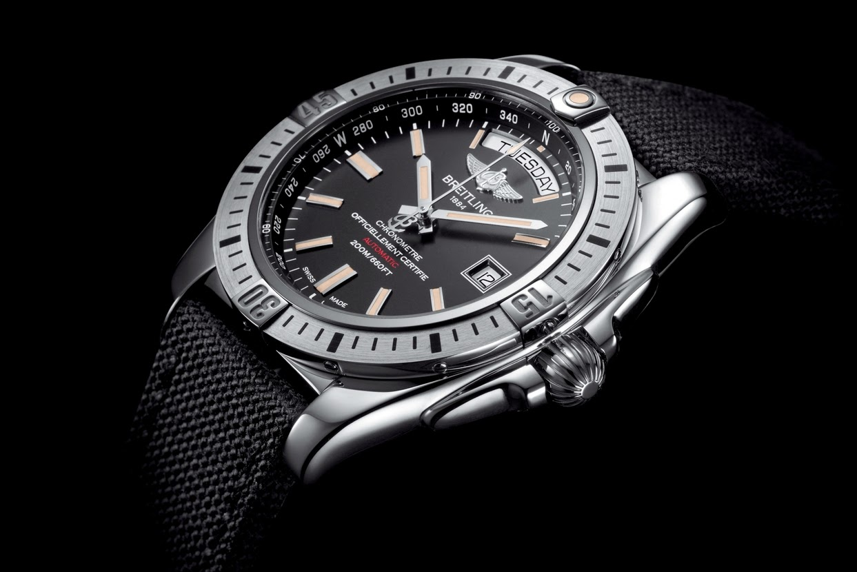 Steel Case Breitling Galactic 44mm Replica Watch