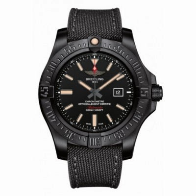 New Superhero breitling avenger blackbird titanium replica watch