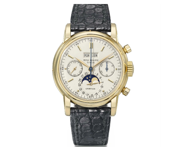 This Patek Philippe 2499 retailed by Cartier sold for over $1,000,000 in November of 2013.
