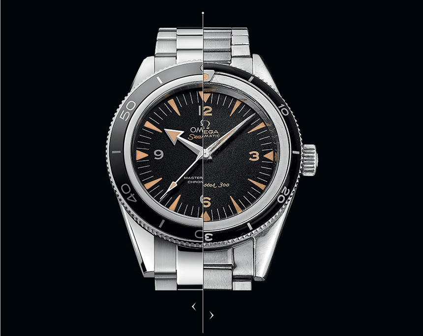 Best omega seamaster 300 master co-axial 41 black replica watch