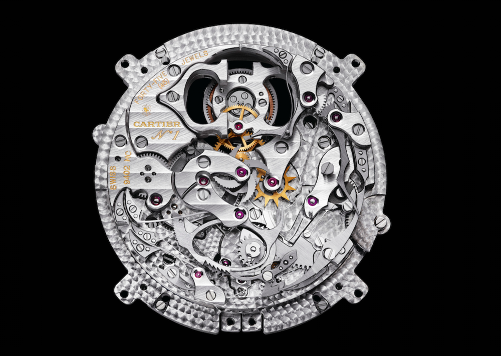 CALIBRE 9402 MCMINUTE REPEATER FLYING TOURBILLON