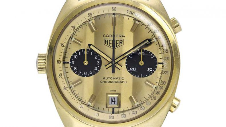 TAG Heuer Carrera Automatic Full Gold Fake Watches For ...