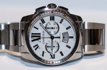 cartier calibre de cartier chronograph 42mm