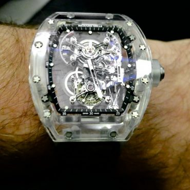 Richard Mille RM 56-01 Tourbillon Saphir