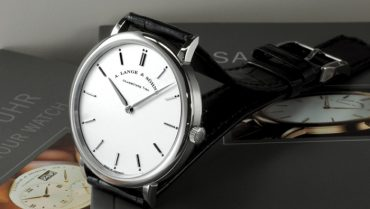 a. lange & söhne saxonia thin white gold replica watch