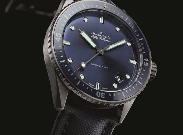 Blue Dial Blancpain Fifty Fathoms Bathyscape Replica Watch
