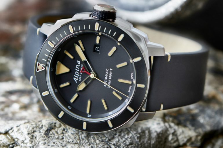 Alpina Seastrong Diver 300 Automatic Watch Watch Releases