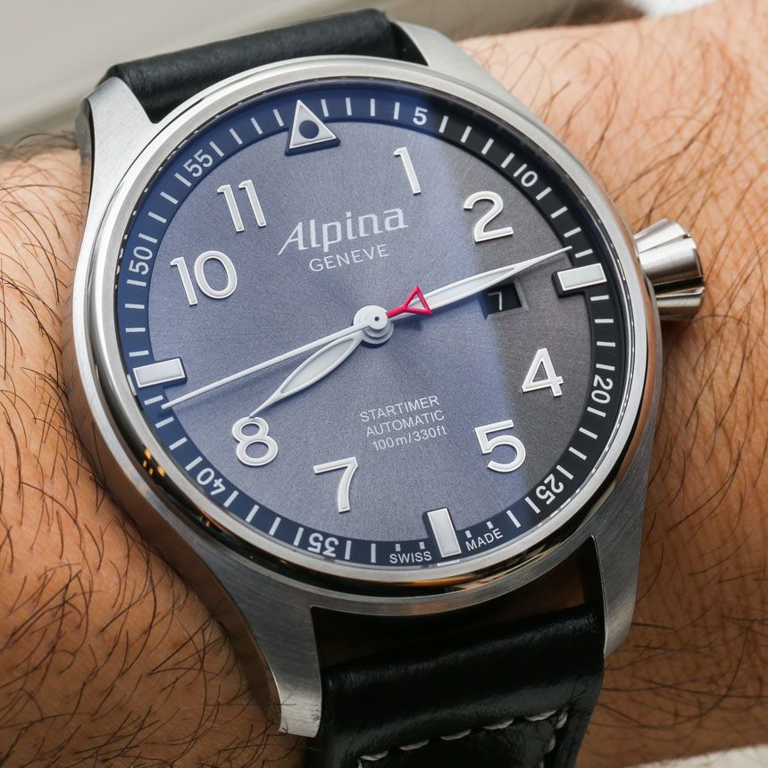Alpina Startimer Pilot Automatic Watches For 2014 Hands-On Hands-On