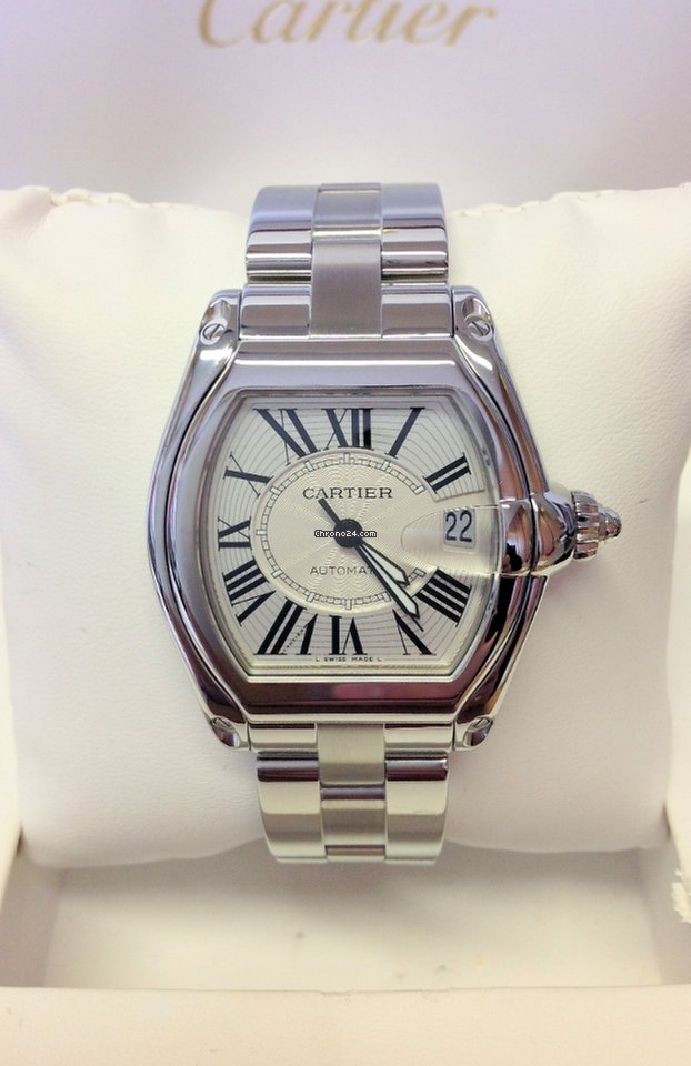 0888abb9f1b Cartier Roadster W62025V3 - Serviced By Cartier Replica At Lowest ...