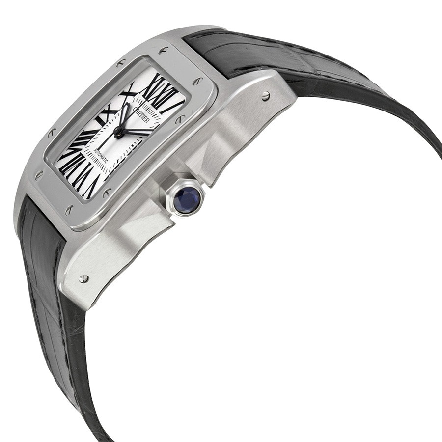 Cartier Santos 100 Stainless Steel Medium Watch W20106X8